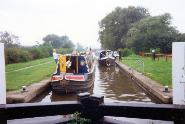 Aston Lock 8 Trent and Mersey Canal