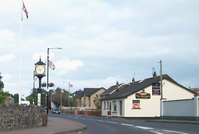The village clock at Kesh