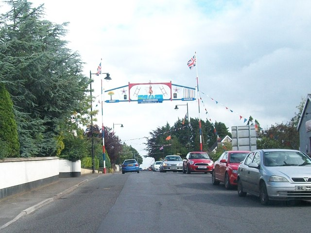 The Orange Arch at Kesh