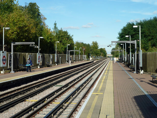 On West Acton station