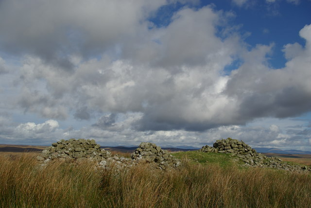 Cairns on Cairnerzean Fell