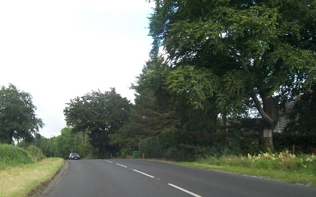 Bend on the B82 between Rockfield and Rossfad
