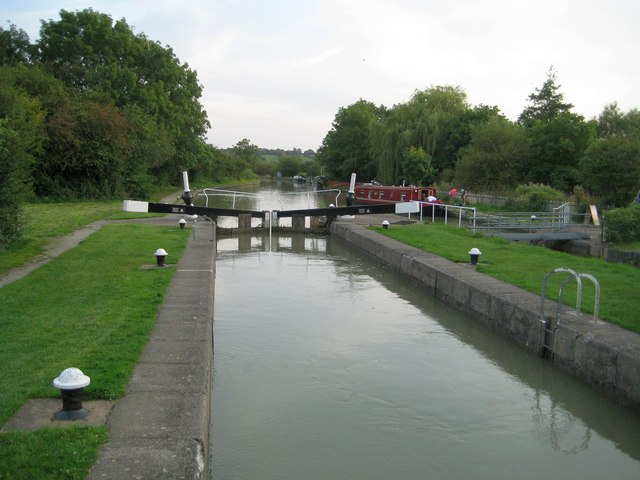 Grand Union Canal: Calcutt Top Lock Number 1