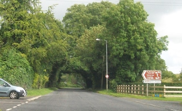 Road junction on the B82  at Killadeas