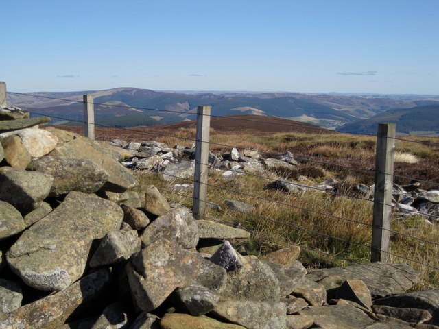 Birks Hill from Birks Cairn