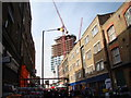 TQ3382 : View along Sclater Street from Brick Lane by Robert Lamb