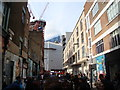 TQ3382 : View along Bacon Street from Brick Lane by Robert Lamb