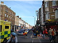 TQ3382 : View along Bethnal Green Road #2 by Robert Lamb