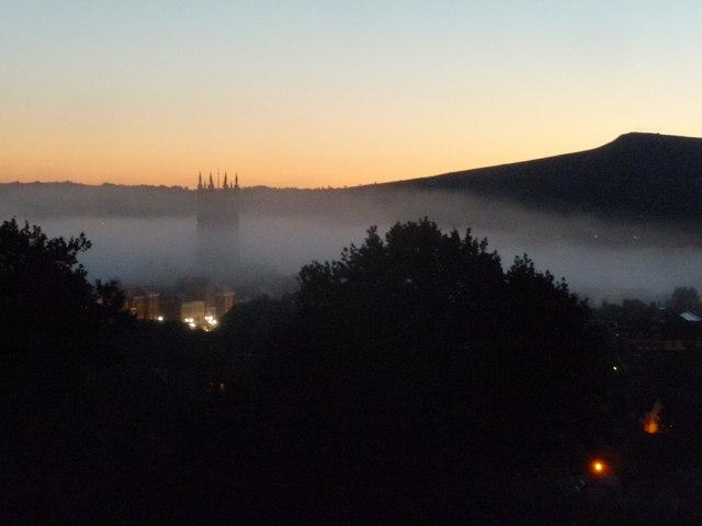 Autumn dawn, Ludlow