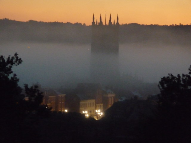 Ludlow on an autumn dawn