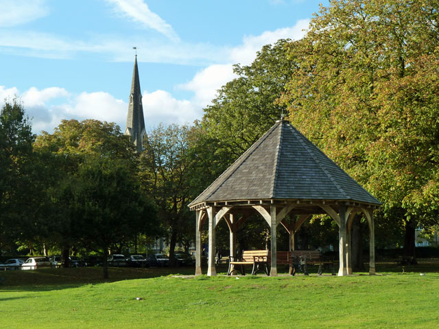Shelter, Churchfields recreation ground