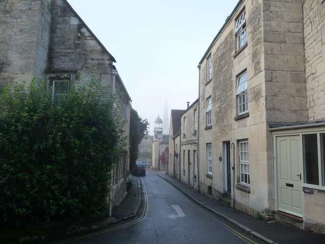 Autumn early morning in Painswick