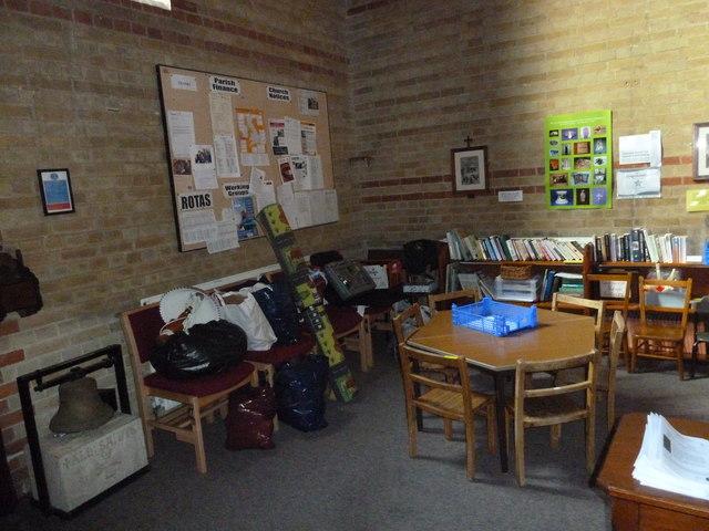 Gurnard, All Saints: children's area