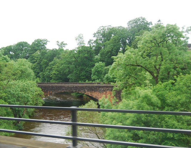 B7076 Bridge across Annan Water