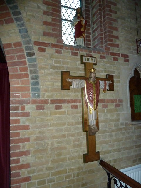 Gurnard, All Saints: crucifix