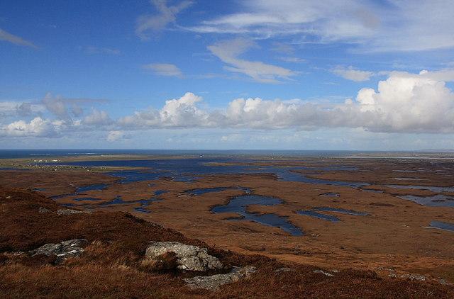 View From Beinn Tairbeirt