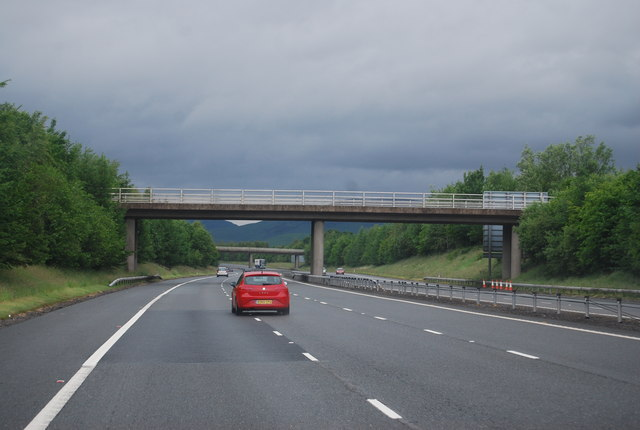 Annanbank Dairy Access Bridge, A74(M)