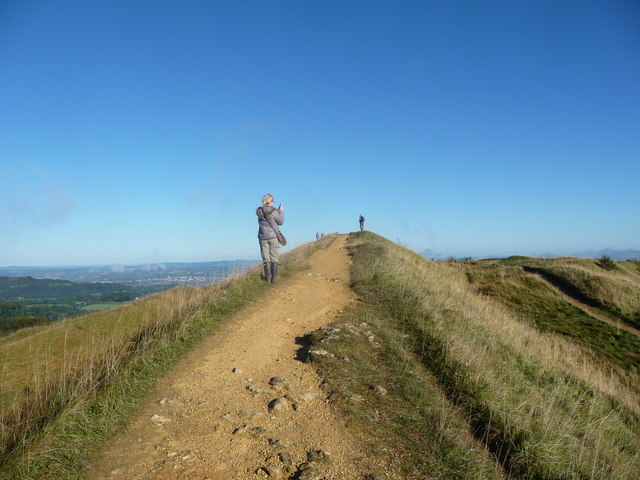 On Kimsbury hillfort on Painswick Beacon