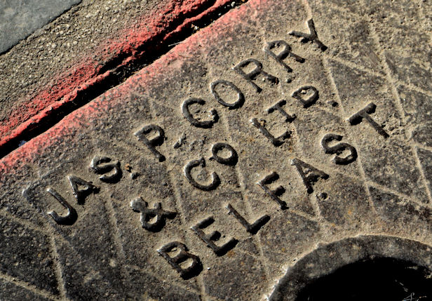 """Corry"" access cover, Belfast (2)"