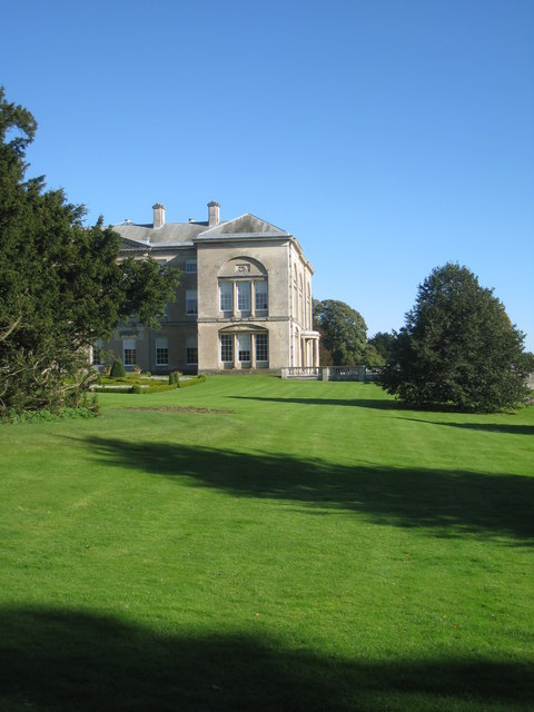 The south west corner of Sledmere House