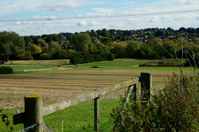 View Towards New Alresford, Hampshire