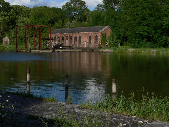 Holwell Reservoir pumping station