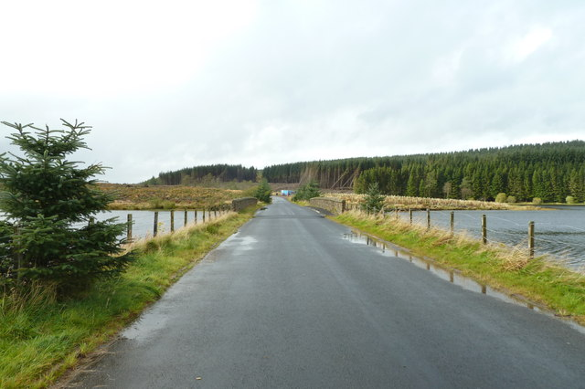 Causeway Bridge, Alemoor Reservoir