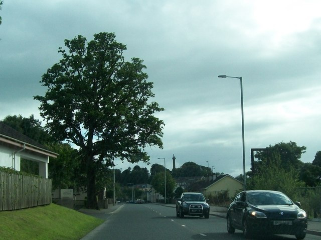 The Irvinestown Road (B32) at Enniskillen