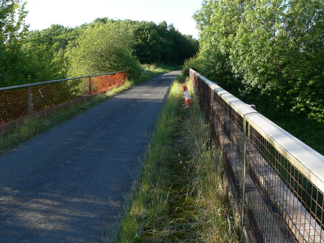 Bridge along Welby Lane