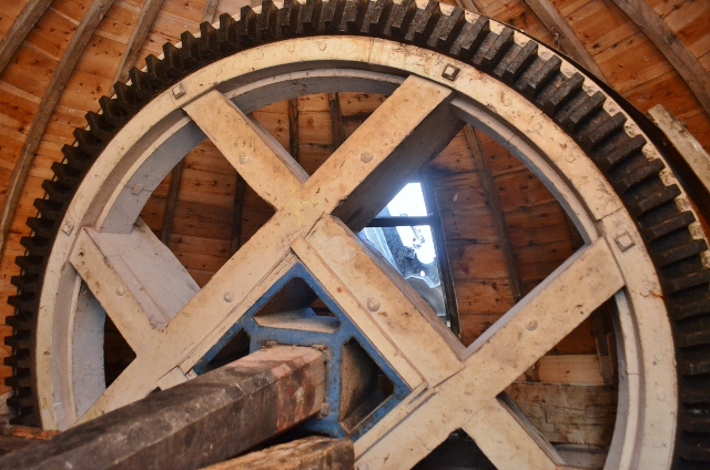 Alford Windmill - brake wheel