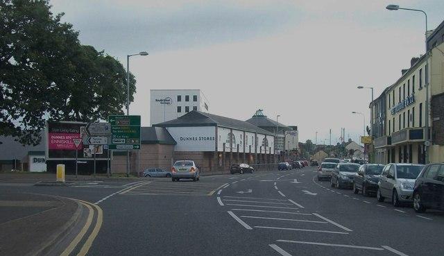 Dunnes Store in Forthill Road, Enniskillen