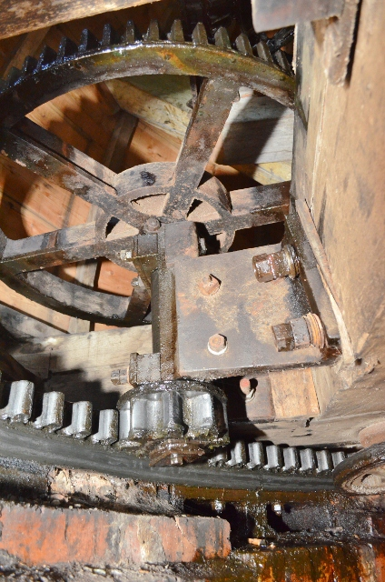 Alford Windmill - fantail cap mechanism