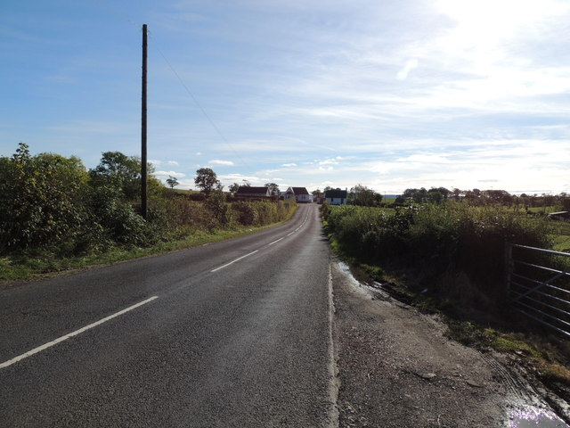 The B730 near Coalhall