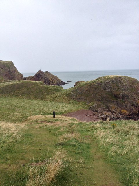 Cliff top path, St Abbs