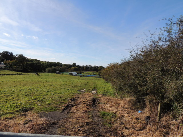 Farmland near Coalhall