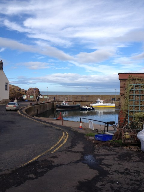 Harbour.  St Abbs.