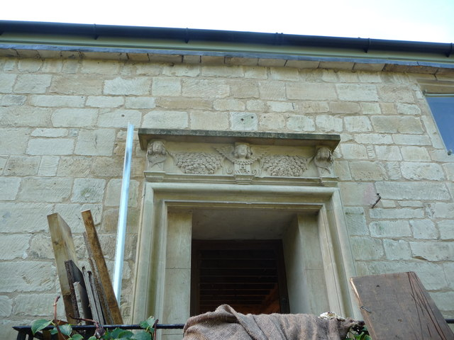 Doorway lintel with date
