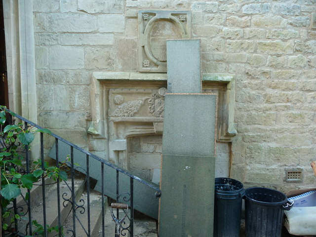 Stone carvings at Washbrook Farm