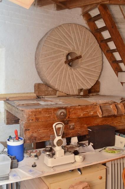 Alford Windmill - hurst frame