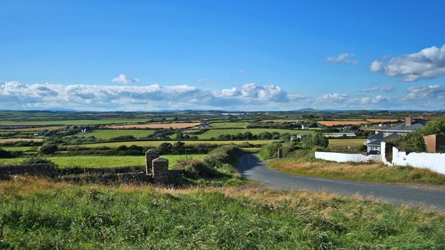 View from the coast road near Corbally Beg
