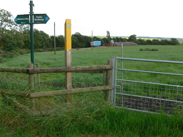 Midshires Way near Shoby