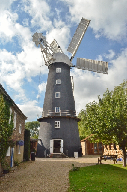 Alford Windmill - exterior view