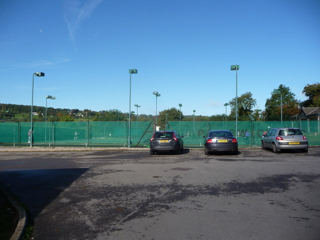 Part of Painswick Tennis Club