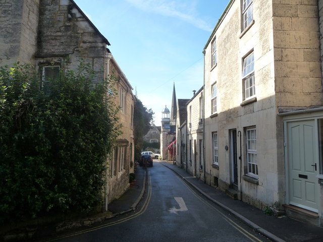 Sidestreet in Painswick