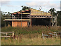 TL4101 : Barn being repaired by Roger Jones