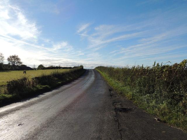 The B730 near Craigie Byre