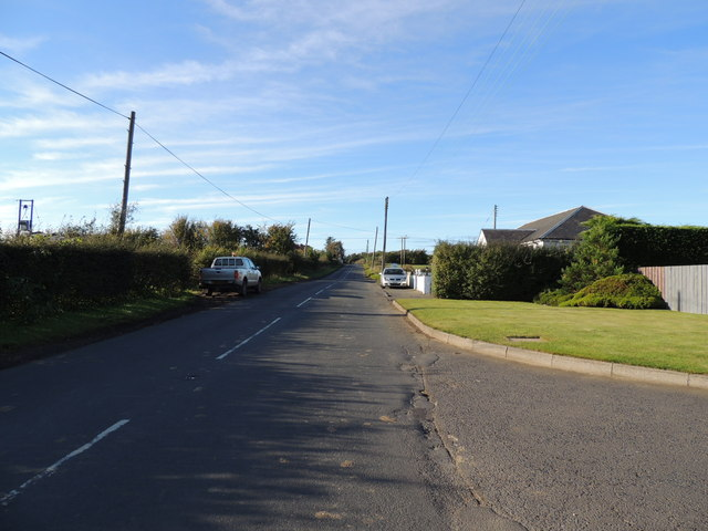 The B730 near Hayes Garden Land