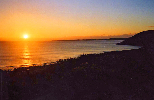 Manorbier Sunset