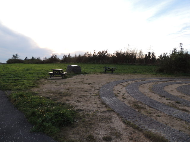 Picnic Area at Viewpoint near Turnberry