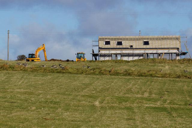 Newbuild at Baltasound
